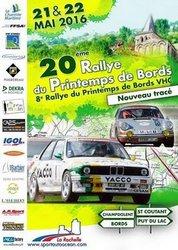21 & 22 Mai 2016 Rallye Régional du Printemps de Bords