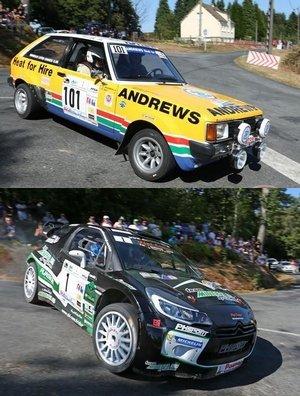Rallye du Pays de Saint Yrieix (71 partants, 46 classés)