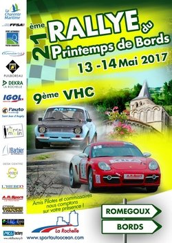 13 & 14 Mai 2017 Rallye Régional du Printemps de Bords