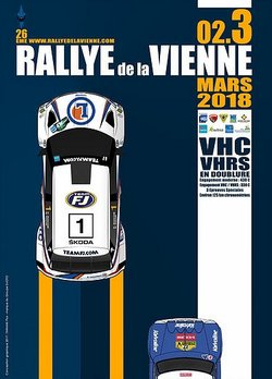 2 & 3 Mars 2018 26ème Rallye National de La Vienne