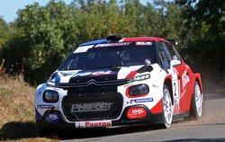 Rallye National (chpt 2ème div) du Pays de Saint Yrieix (69 partants, 45 classés)