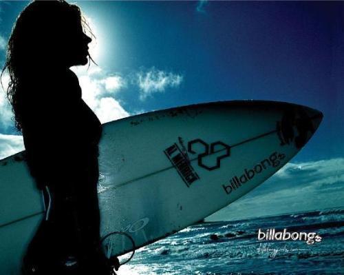 Le monde du surf .