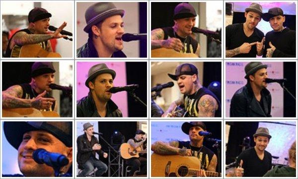 Concert acoustique au Macy's du Minnesota + Deano :)
