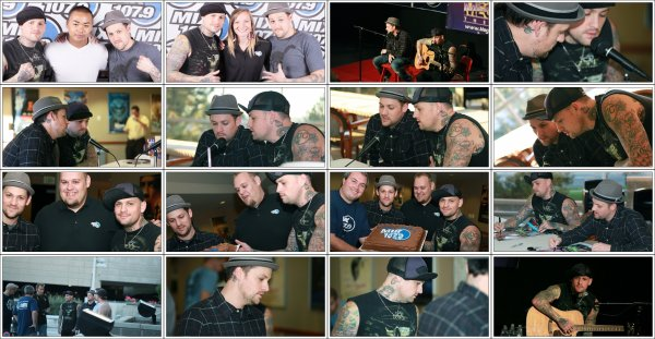 Good Charlotte _ Radio MIX 107.9  Utah