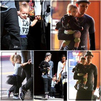Joel Madden & ses enfants