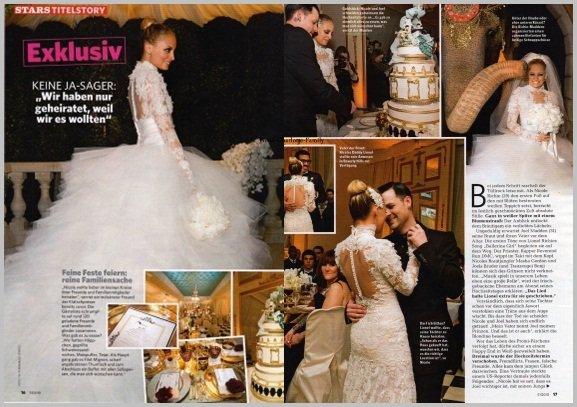 Scan du mariage de Joel Madden et Nicole Richie