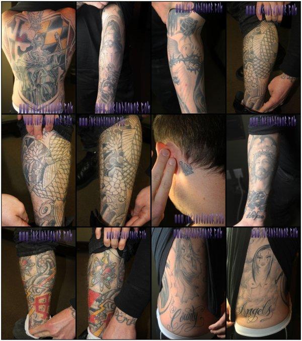 Les tatouages de Joel et Benji Madden