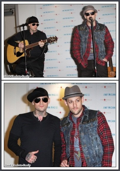 Joel, Benji et Tal + Photo du concert à Macy's (Miami)