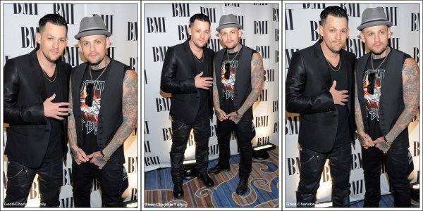 Joel & Sparrow + BMI Pop Music Awards - Show