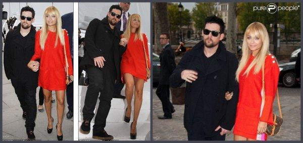Trip à Paris pour Nicole & Joel Madden