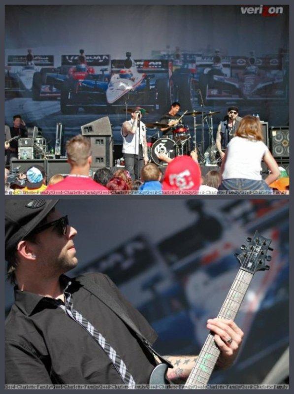 Good Charlotte - Las Vegas - Fan Village - 15 Octobre