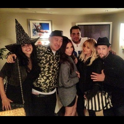 Joel & benji Madden Halloween party + twitpic