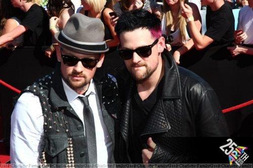 Joel et Benji Madden aux ARIAs