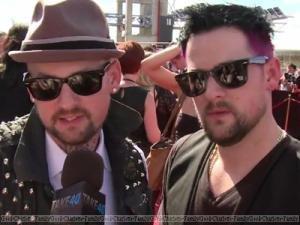 Joel et Benji Madden aux ARIAs bis