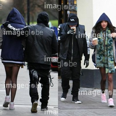 Joel Madden photo perso + Benji & Eliza Dolittle out & about in London