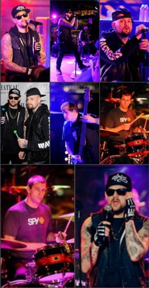 Good Charlotte in Vegas M&G - Show - red carpet
