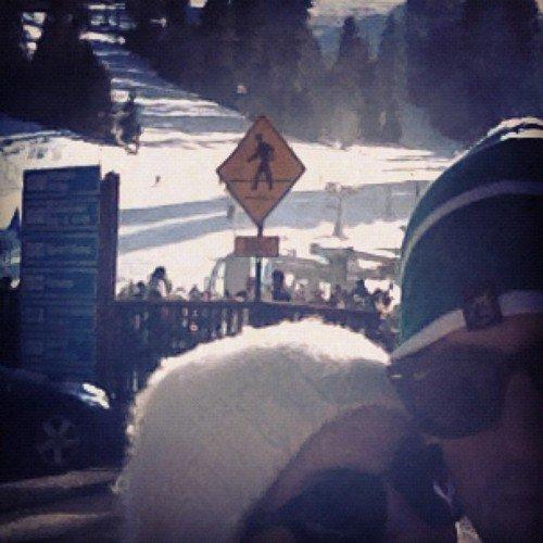 Joel Madden et Nicole Richie au ski
