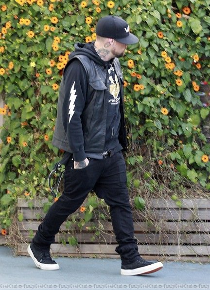Benji Madden at Harlow's B-day party