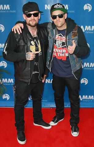 Joel & Benji Madden at Gretsch Showcase 2012 + info The Madden Brothers