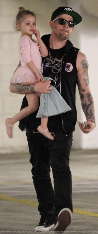 Joel Madden & his bellerina girl