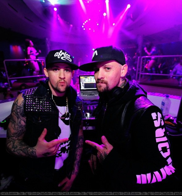 Joel Madden & Benji Madden Perform at RPM Nightclub