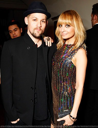 Joel & Nicole at Warner Music Group Grammy Celebration Hosted By InStyle