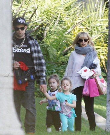 Joel & Nicole after school with kids - 14th february