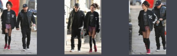Benji Madden & Eliza Doolittle out & about in London - 15th february