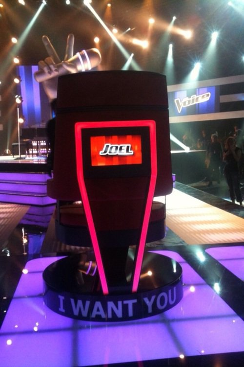 Joel's chair - @TheVoiceAU