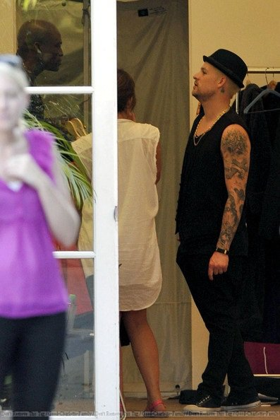 Joel Madden, Seal & Delta attend for a photoshoot