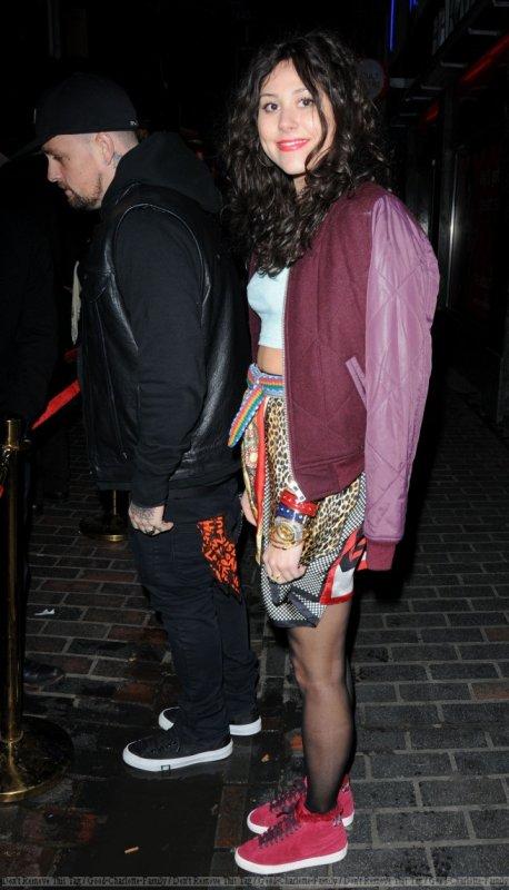 Benji Madden & Eliza Doolittle London Fashion Week After Party at The Box. London, England - 19.02.12