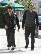Benji Madden with friend in L.A 01.03.2012 + personal pic