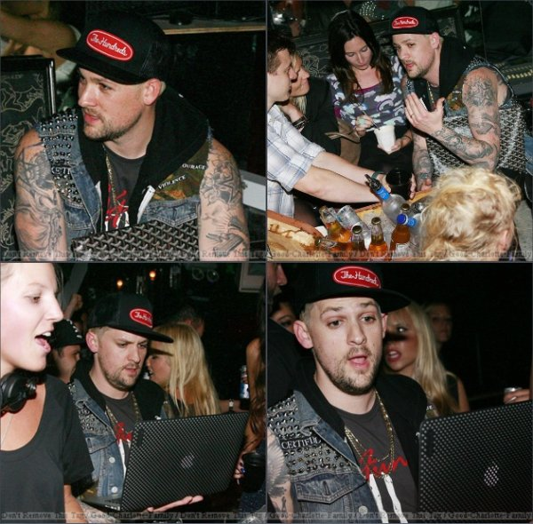 Joel Madden Showing Off His DJ Skills In Sydney - March 4, 2012