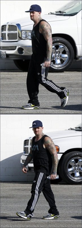 Joel & Benji Madden - gym - West Hollywood - 12th march 2012