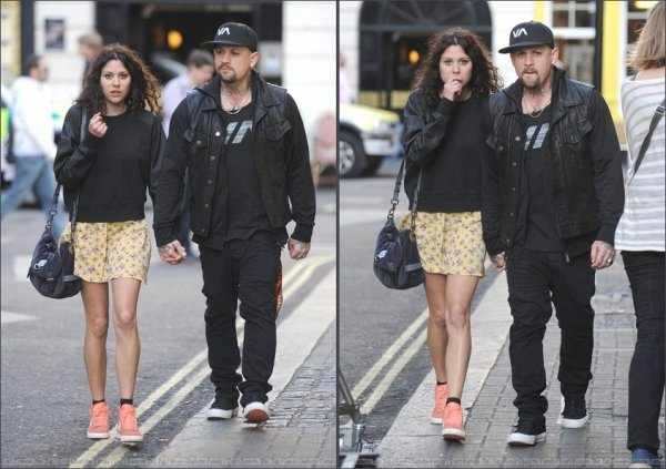 Benji Madden & Eliza Doolittle in Soho - London - 27.03.2012