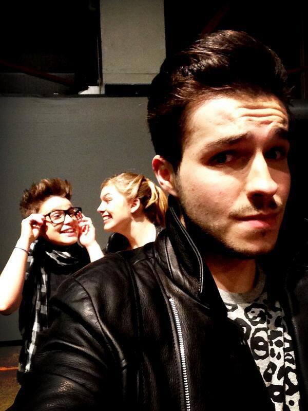 Loïs , Louane et Olympe