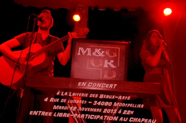 concert à la laiterie des beaux-arts le mardi 12 novembre 2013