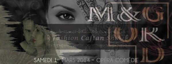 M&GorD au Fashion Caftan Show à l'opéra comédie