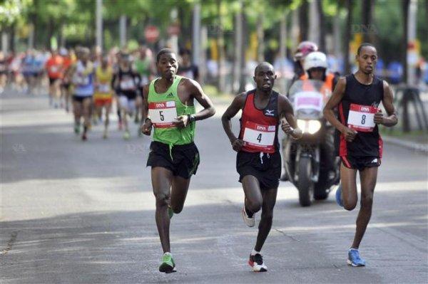 Dimanche 13 Mai 2012 :  Semi-Marathon de Strasbourg (21,100Km courus en 1 Heure 24 Minutes 28 Secondes)