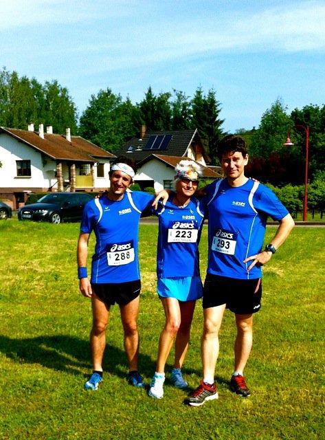 Dimanche 20 Mai 2012 :  Foulées de Dinsheim sur Bruche (12,800 Km courus en 50 Minutes 52 Secondes)