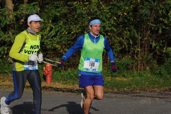Dimanche 28 Octobre 2012 :  Marathon de Strasbourg (42,195 Km courus en 3 Heures 39 Minutes 28 Secondes)