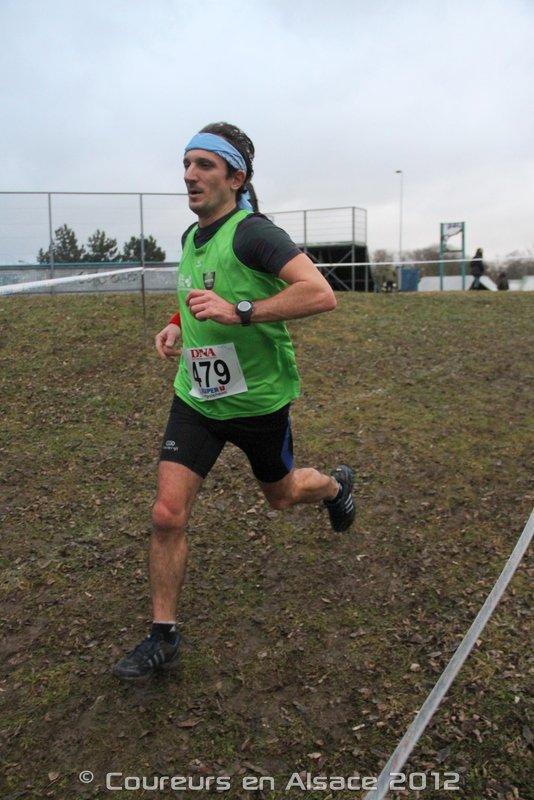 Dimanche 16 décembre 2012 :  Cross de Lingolsheim (7,7 Km courus en 29 Minutes 13 Secondes)