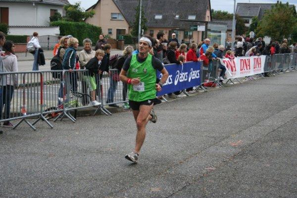 Dimanche 6 Janvier 2013 : Corrida de Geispolsheim ( 4 Km courus en 13 Minutes 39 secondes et 7 km courus en 25 Minutes 28 secondes )