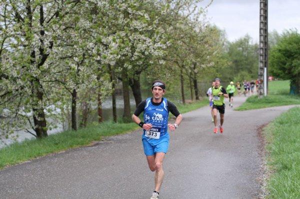 Samedi 27 avril 2013 :  Foulées nature du Courlis à Erstein (12,5Km courus en 45 Minutes 06 Secondes)