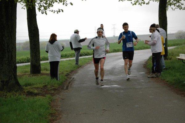 Dimanche 28 Avril 2013 :  Foulées de la Bruche  (19Km courus en 1 Heure 21 Minutes 26 Secondes)