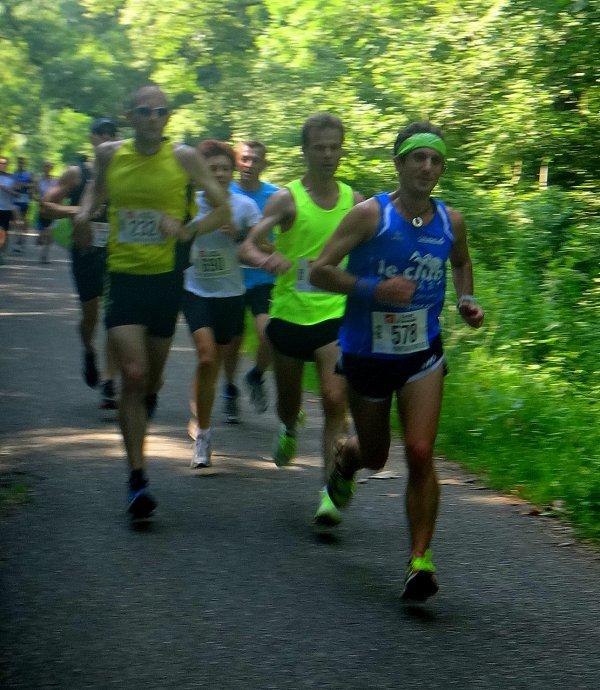 Dimanche 7 juillet 2013 :  La Robertsauvienne (10Km courus en 38M45S)