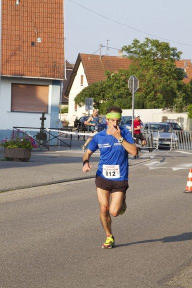 Dimanche 1e septembre 2013:  Courses de Fegersheim  (5Kmcourus en 19M41S et 10Km courus en 41M59S)