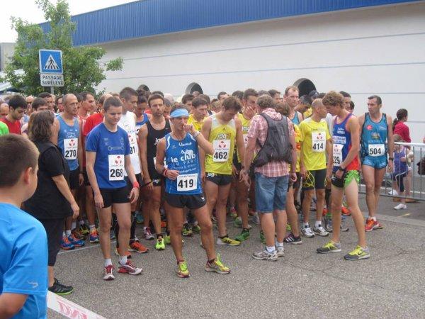 Samedi 7 septembre 2013 :  Courses de Bischwiller (5Km courus en 22M24S et 10Km courus en 37M23S)