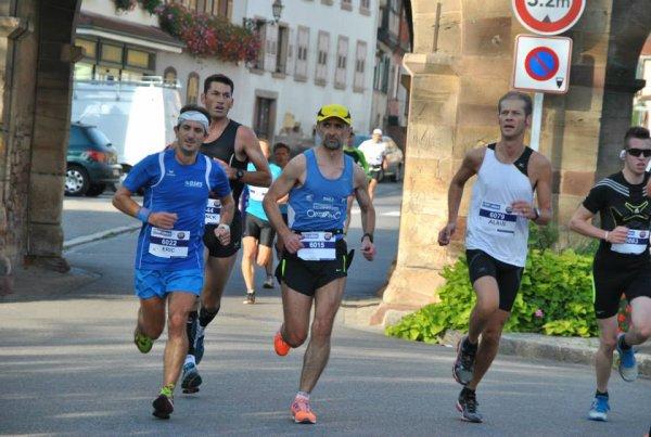 Dimanche 22 septembre 2013 :   Semi – Marathon de Rosheim (21,100 Km courus en 1H21M28S)