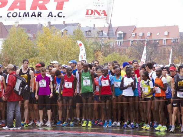 Dimanche 10 Novembre 2013 :  Course de Colmar (10 Km courus en 35M59S)